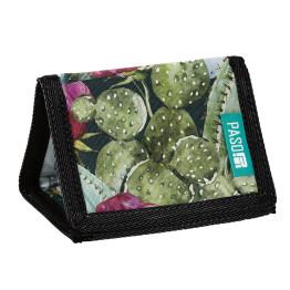 Paso Tropical Wild Flowers tépőzáras pénztárca