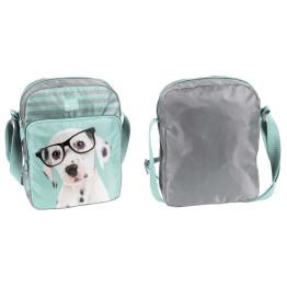 Paso Studio Pets Glasses Dalmatian 2 rekeszes mini válltáska