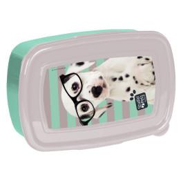 Paso Studio Pets Glasses Dalmatian uzsonnásdoboz