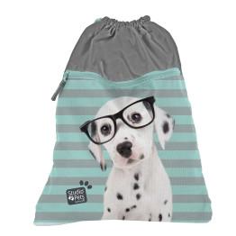 Paso Studio Pets Glasses Dalmatian nagy tornazsák