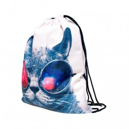Wilky Galaxy Sunglasses Cat tornazsák