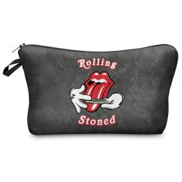 Wilky Rolling Stoned kozmetikai táska