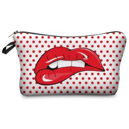 Wilky Dot Lips kozmetikai táska