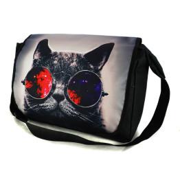 Wilky Galaxy Sunglasses Cat A4 válltáska