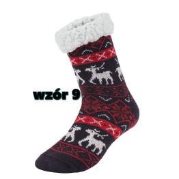 Wilky téli puha bundás női zokni 39-42 - Modell 30